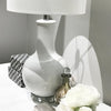 Ceramic Table Lamp White