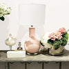 Ceramic Table Lamp Pink
