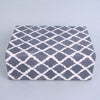 Large Bone Resin Box Grey White