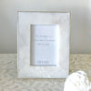 Marble Photo Frame Brass Edge Large