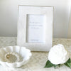 Marble Photo Frame Brass Edge 4x6