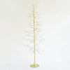 Crystal Glisten Tree Gold Small