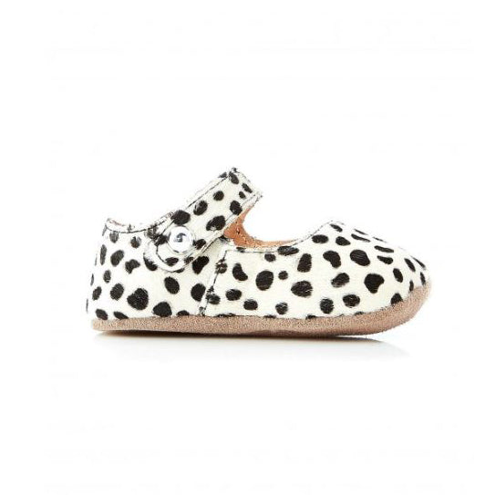 Walnut Shoes - Maggie Pony Mary Jane - Spot