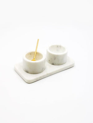 Marble Condiment Set 2PCS