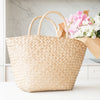 Rattan Market Basket Natural