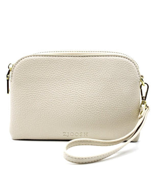 Mini Hugo Purse White