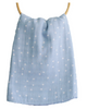 Muslin  Blue Starry Night Swaddle