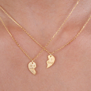 Best Friends Double Necklace