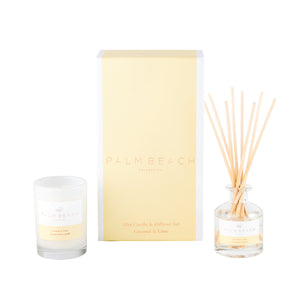 Palm Beach - Coconut & Lime - Mini Candle and Diffuser