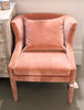 Penelope Arm Chair Blush
