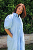 Phoebe Shirt Dress Blue