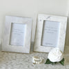 Marble Photo Frame Brass Edge Small