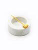 Marble Pinch Spot with Spoon