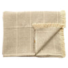 Brushed Wild Stripe Throw Stone
