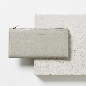 In the Beginning Wallet Grey