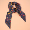 Elodie Scarf Orange Blooms 85cm X 5cm