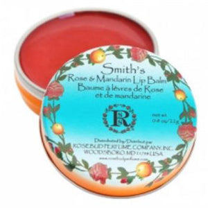 Rose Mandarin Lip Balm - Tin