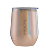 Stemless Glitter Rose Gold 355Ml
