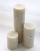 Chapel Candles Ivory Small