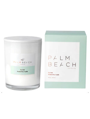 Palm Beach Sea Salt Deluxe Candle
