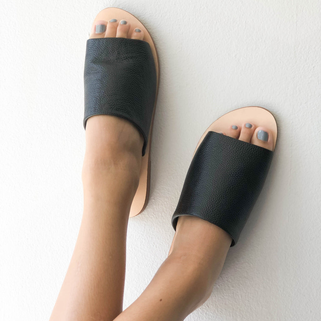 Skye Slide Black