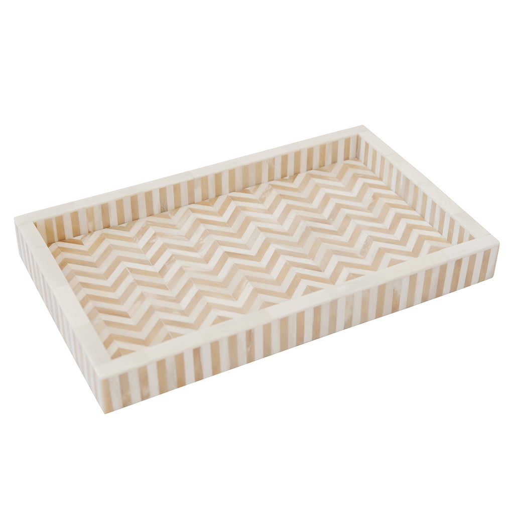 Bone Tray Chevron