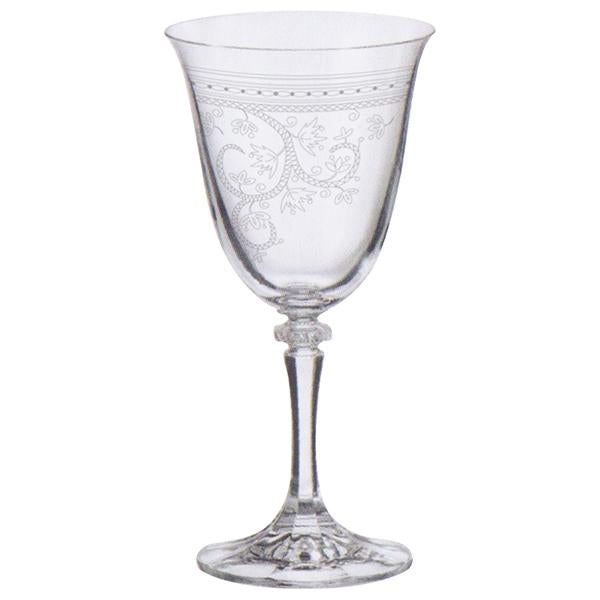 Mont Marte Etched Wine Glass