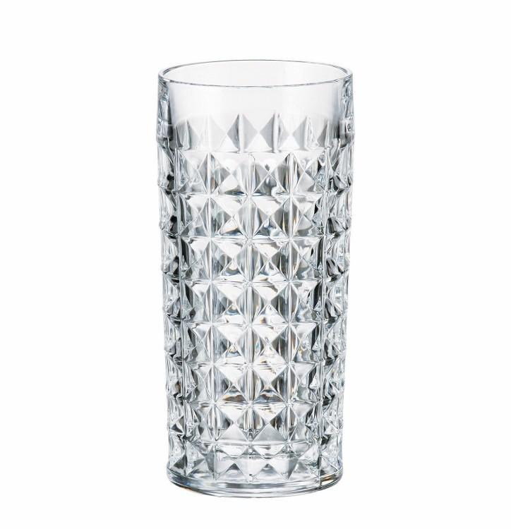 Diamond Cut Crystal Highball
