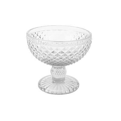 HONEYCOMB ICECREAM BOWL CLEAR