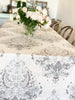 Fontainebleau Table Cloth Print