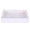 Marble Tray With Rim - Small