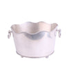 Curved Rim Bucket Pewter
