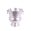 Engraved Pedastel Wine Bucket Pewter
