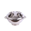 Lidded 4 Bottle Bucket Nickel