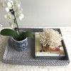 Rattan Rectangle Tray Large