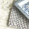 Rattan Square Placemat Grey Wash