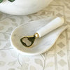 Marble And Brass Bottle Opener