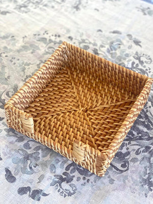 Rattan Napkin Box Natural