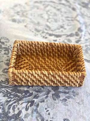 Rattan Vanity Tray Natural Small
