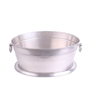 Big Oval Bucket Pewter