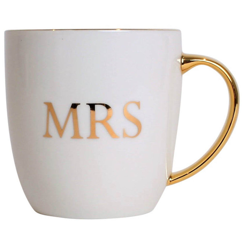 Mrs Mug Boxed White 350Ml