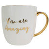 You Are Amazing Boxed Mug - White
