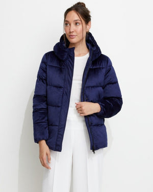 True Blue Puffer Jacket Navy
