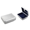Silverplated Rectangular Beaded Jewellery Box