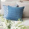 Wallpaper Stripe Floret Cushion
