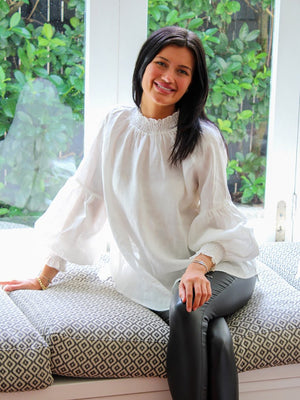 Willow Blouse White