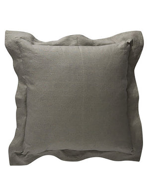 Babbington Flange Sage Cushion 50cm x 50cm