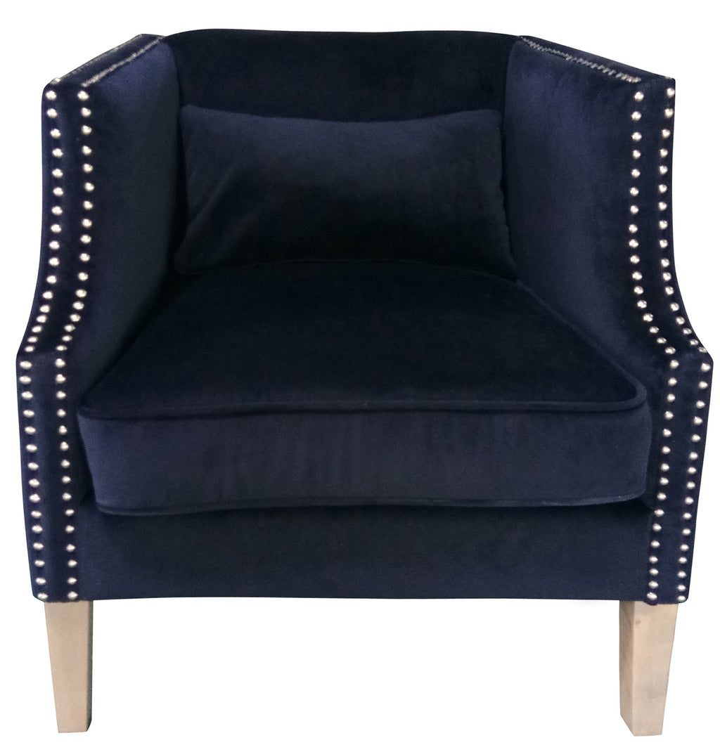 Grosvenor Club Chair Navy
