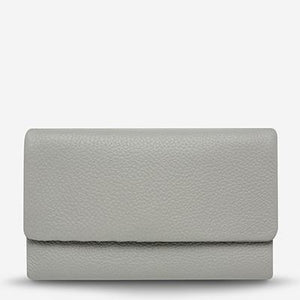 AUDREY Wallet Pebble Grey