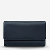 AUDREY Wallet Pebble Navy